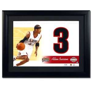 NBA Jersey Numbers Collection Philadelphia 76ers   Allen Iverson