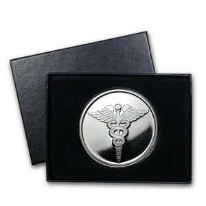 oz Medical Silver Round (w/Gift Box & Capsule)