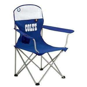 Indianapolis Colts NFL Deluxe Folding Arm Chair  Sports