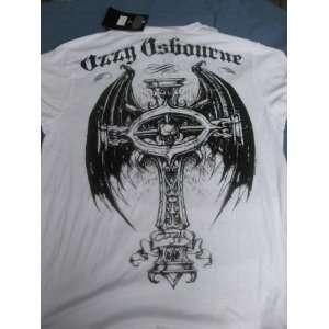 Affliction Ozzy Osbourne Large White