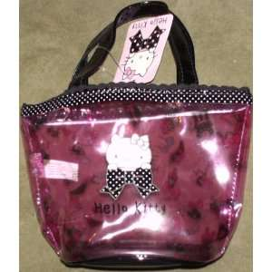 Hello Kitty Pink Plastic Bag with Polka Dot Trim Toys