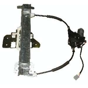 Lincoln Town Car Rear Power Window Regulator with Motor