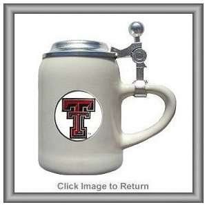 Set of 2 NCAA Texas Tech Red Raiders Ceramic Shot Glasses