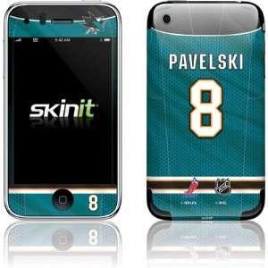 J. Pavelski   San Jose Sharks #8 skin for Apple iPhone 3G