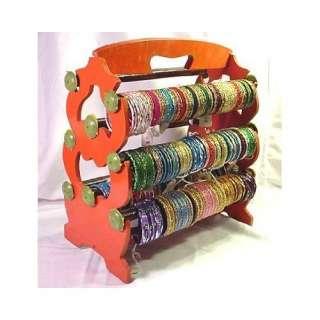 Bangle Stand Bracelet Display Rack Holder, Orange.