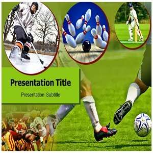 Powerpoint Templates   Sports Background Templates Slides Software