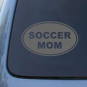 SOCCER MOM   Vinyl Car Decal Sticker #1562  Vinyl Color