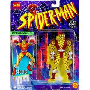 Spider Man Shocker Action Figure  Toys & Games