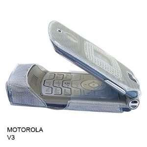 Motorola V3 V3c Razr Clear Bling Bling Diamond Crystal Style Case Sold