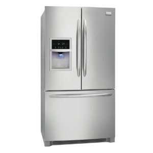 22.6 Cu. Ft. French Door Counter Depth Refrigerator   Stainless Steel
