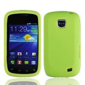 Straight Talk Samsung Galaxy Proclaim Green Silicone Soft