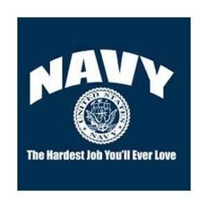 T shirts Homor Novelty Navy Job XL