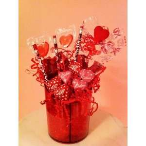 Valentines Day Gift Basket   Sweetheart Pencil Caddy