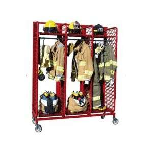 Groves Red Rack Mobile Gear Storage  Industrial