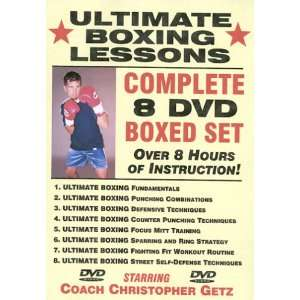 Ultimate Boxing Lessons COMPLETE 8 DVD BOXED SET
