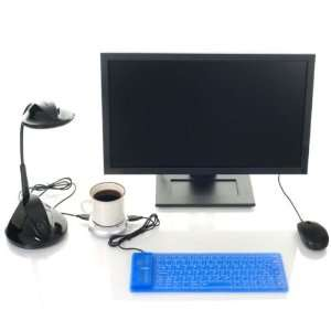 USB Combo Pack   LED Light Waterproof Keyboard and Hub