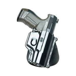Standard Paddle Holster, Walther P99, Right Hand, Black, Warranty