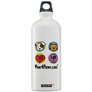 Wine 4 Paws Pets Sigg Water Bottle 1.0L by