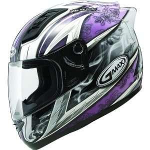GMAX GM69 Crusader II Womens Full Face Motorcycle Helmet