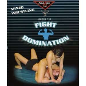 French Mixed Wrestling Fight Domination (Female vs Male) Unrated DVD