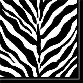 Design Design Serengeti Black & White Dinner Plate, 8 Count Packages