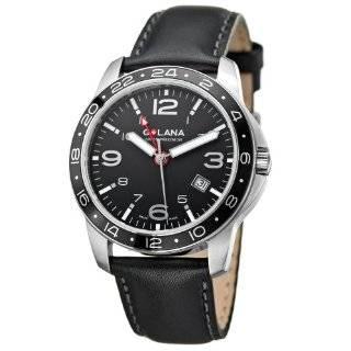 Golana Swiss Mens AQ100 4 Aqua Pro 100 Quartz Watch Watches
