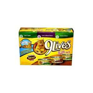 9 Lives Wet Cat Food 12 pk.   66 oz.