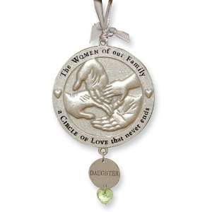 Circle of Love Daughter Ornament: Jewelry