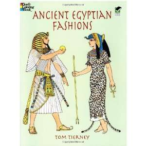 Ancient Egyptian Fashions (Dover Fashion Coloring Book
