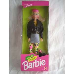 Wild Style Barbie Doll Target Exclusive 1992 Mattel Toys