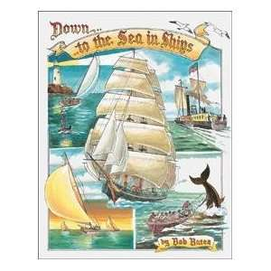 Sea Ships Whale Hunting Fishing tin sign #1285 Everything