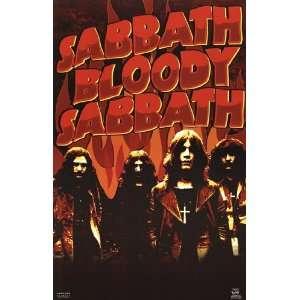 Black Sabbath  Bloody by Unknown 22x34