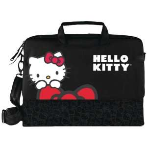 Hello Kitty Kt4335B Hello Kitty Notebook Bag (Black