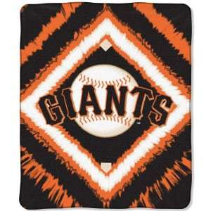 San Francisco Giants MLB Style 50x 60 Imprint Micro