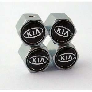 KIA Anti theft Car Wheel Tire Valve Stem Caps Automotive
