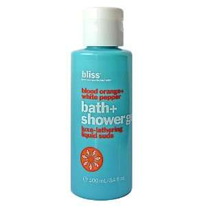 Bliss Blood Orange+White Pepper Shower Gel 3.4 Oz. Beauty