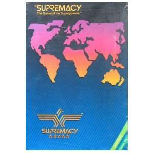 Supremacy: The Game of the Superpowers [BOX SET] [Misc. Supplies]