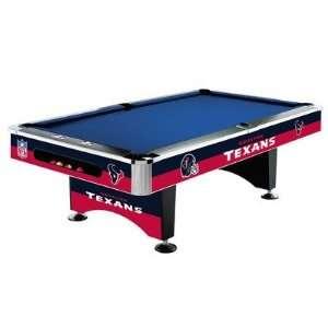 Houston Texans NFL Pool Table