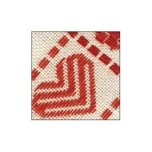 Love Afghan   Antique White/Red Arts, Crafts & Sewing