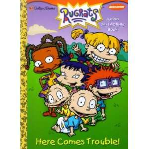 Here Comes Trouble (Super Coloring Book) (9780307254054
