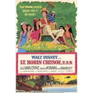 Lt Robin Crusoe U.S.N. Movie Poster (11 x 17 Inches   28cm