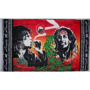 Large Bob Marley Rasta Marijuana Flag, 3x5 Everything