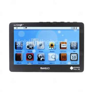 SIGO   4.3 Inch Touch Screen Android+Melis OS Media Player (4GB, 720P