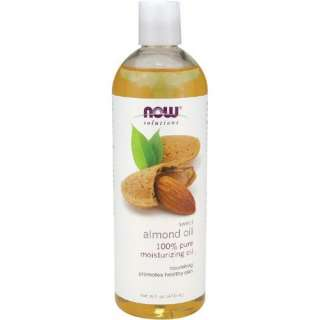 NOW 100% Pure Sweet Almond Oil 16 Oz Aromatherapy 7661