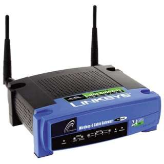 Linksys WCG200 Wireless Gateway 54MBPS 802.11G (WCG200) from Solid