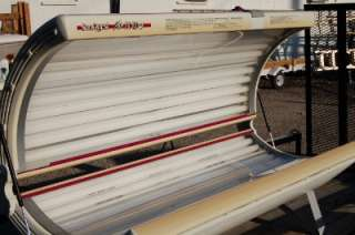 Sunquest Pro 24rs Tanning Bed Acrylic Plastic 1999 2006 Bottom