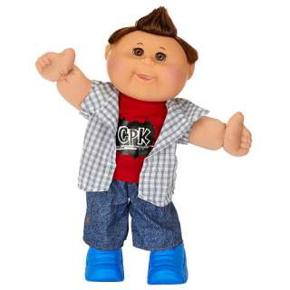 Cabbage Patch Kids Doll   Brunette Hair   Skater Boy   Jakks Pacific
