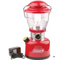 batteries   Coleman Retro Rechargeable Battery Powered Lantern (Family