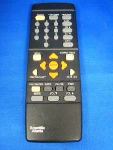 SCIENTIFIC ATLANTA CABLE BOX REMOTE CONTROL 8650 XT