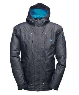 Ski Jacket in Iron and Methyl Blue, Designer Jackets Sale, Dare2b mens
